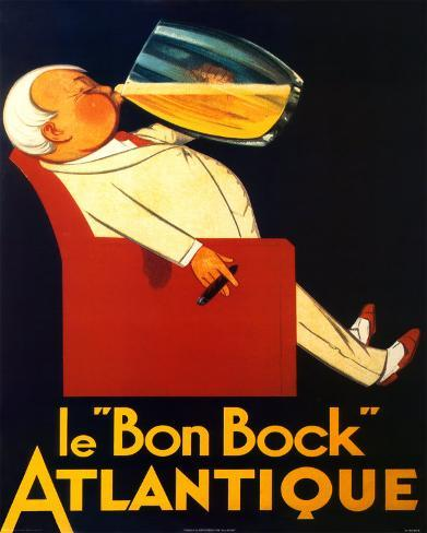 Le Bon Bock Mini Poster