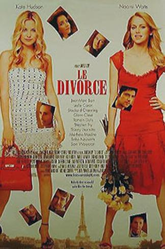 Le Divorce Original Poster