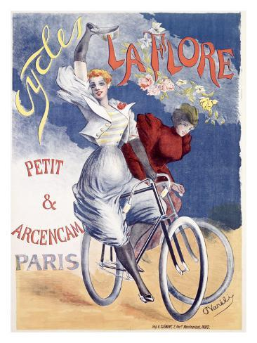 Le Fore Bicycle Giclee Print
