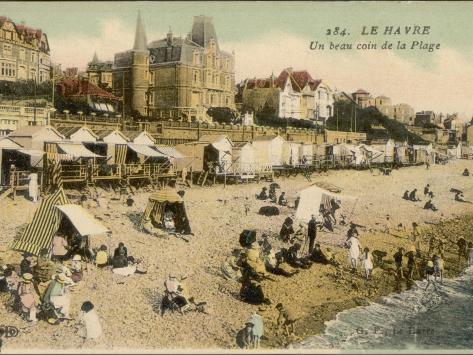 Le Havre Beach Photographic Print
