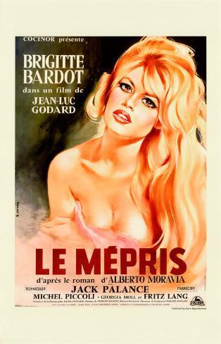 Le Mepris Art Print