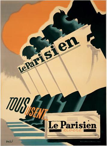 Le Parisien Art Print