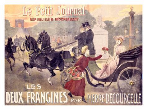 Le Petit Journal, Les Deux Frangines Giclee Print