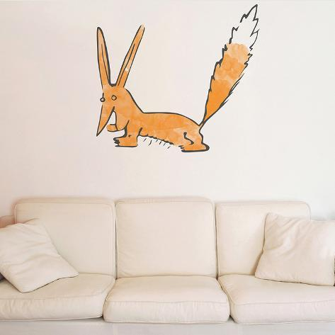 Le Petit Prince - Le Renard Aquarelle Wall Decal - Allposters.Co.Uk