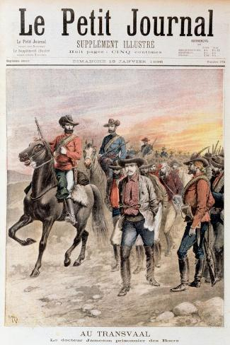 Leander Starr Jameson Taken Prisoner after the Failure of the Jameson Raid, South Africa, 1896 Giclee Print