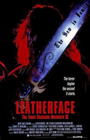 Leatherface: The Texas Chainsaw Massacre 3 Masterprint