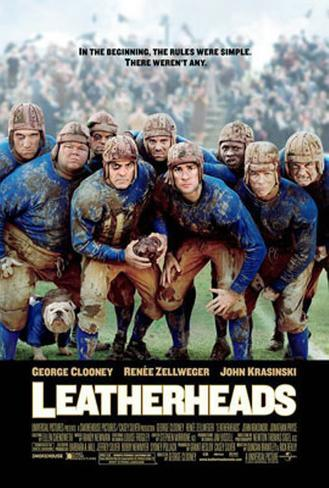 Leatherheads Double-sided poster