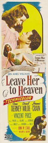 Leave Her To Heaven, 1945 Art Print