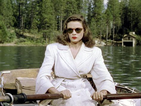 Leave Her To Heaven, Gene Tierney, 1945 写真