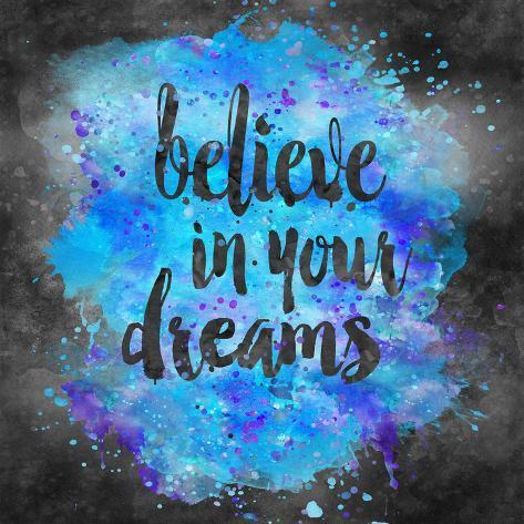 オールポスターズの lebens art believe in your dreams square 2