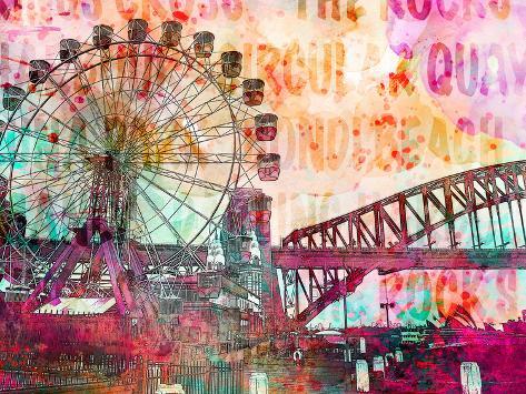 sydney prints by lebens art