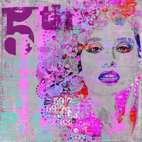 Woman Art - Square Art Print