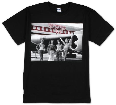 Led Zeppelin - Airplane T-paita
