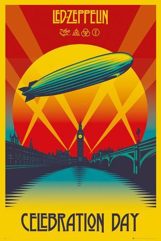 Led Zeppelin- Celebration Day Poster