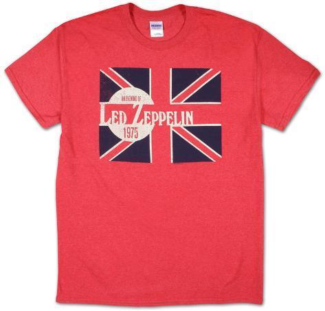Led Zeppelin - Evening of Led Zep 1975 T-Shirt