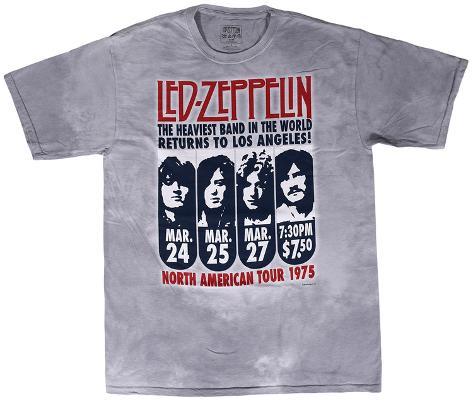 Led Zeppelin - Zeppelin L.A. 1975 T-Shirt