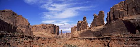 Park Avenue, Arches National Park, Moab, Utah, United States of America (U.S.A.), North America Photographic Print