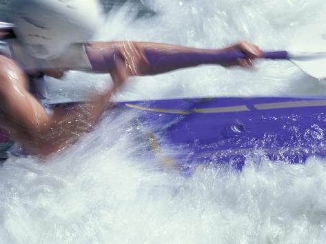 Kayaking, Durango, Colorado, USA Photographic Print