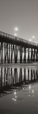 Pier Night Panel II Photographic Print