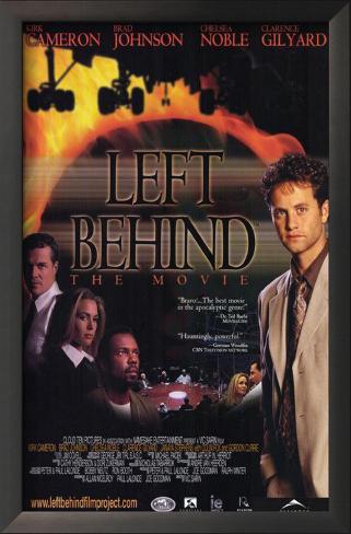 Left Behind: The Movie Framed Art Print