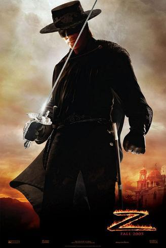 Legend of Zorro Movie Poster Double-sided poster