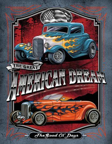 Legends - American Dream Tin Sign