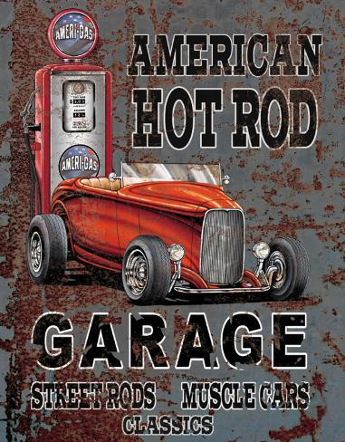 Legends - American Hot Rod Tin Sign