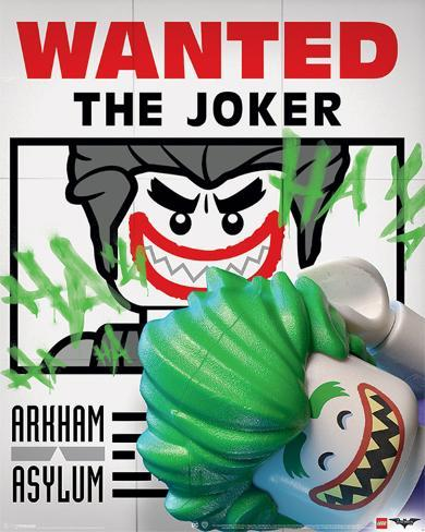 Lego Batman- Wanted! The Joker Mini Poster