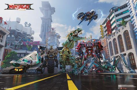 Lego Ninjago - Mech Poster