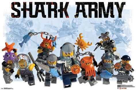 Lego Ninjago - Shark Army Poster