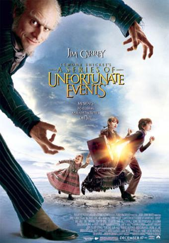 Lemony Snickett's A Series Of Unfortunate Events Original Poster