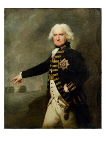 Admiral Lord Bridport (1727-1814) c.1795 Giclee Print