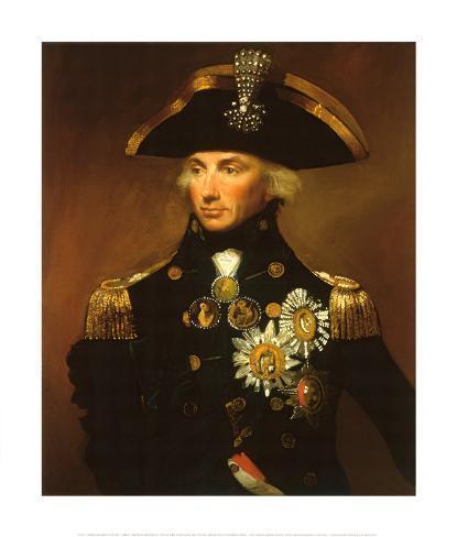 Almirante Sir Horatio Nelson Lámina giclée