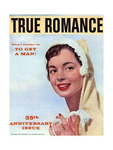 True romance vintage magazine august 1958 35th for Anniversary magazine