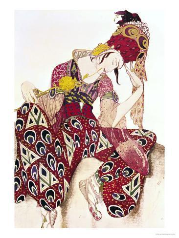 Costume Design for Nijinsky in the Ballet