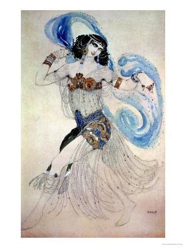 Costume Design for Salome in
