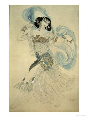 Dance of the Seven Veils, c.1908 Giclee Print