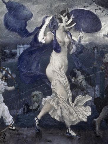 Downpour, c.1906 Lámina giclée