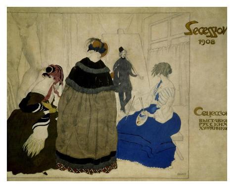 Secession, 1908 Lámina