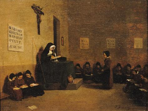 The School Mistress Giclee Print