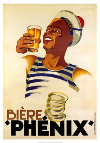 Biere Phenix Art Print