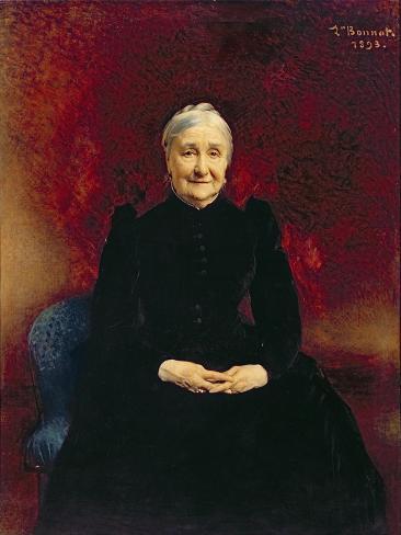 Madame Bonnat, the Artist's Mother, 1893 Lámina giclée