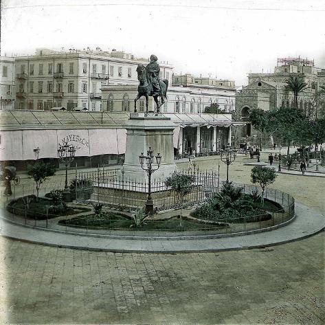 Alexandria (Egypt), Place Des Consuls Photographic Print