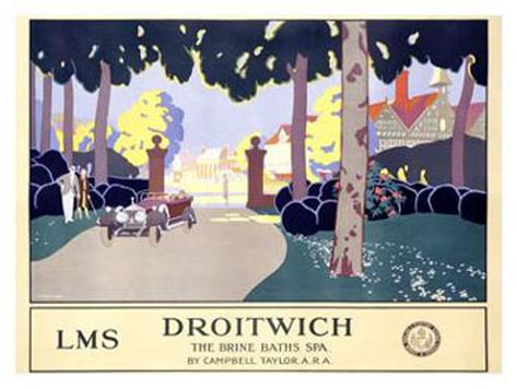 Droitwich Giclee Print