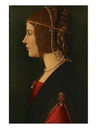 Beatrice D Este Premium Giclee Print By Leonardo Da Vinci