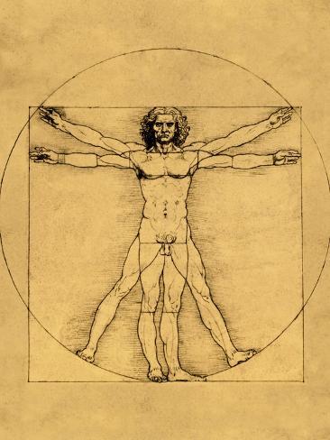 Homo Cuadratus Lámina giclée