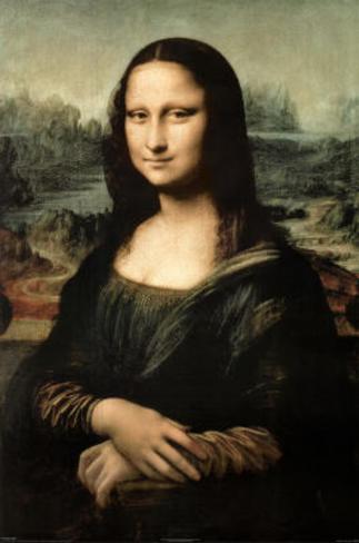 Leonardo da Vinci Mona Lisa Art Print Poster Masterprint