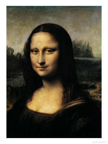 Mona Lisa, c.1507 (detail) Giclee Print