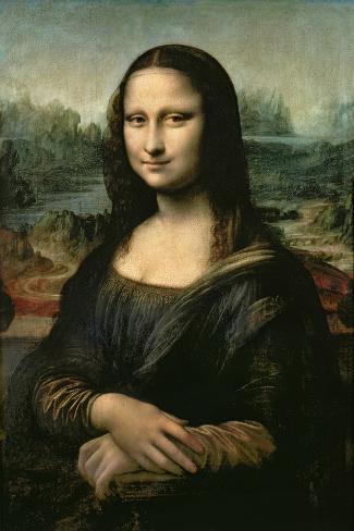 Mona Lisa, c.1507 Impressão giclée premium