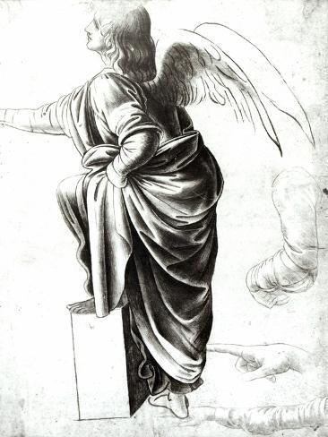 Study of an Angel Giclee Print